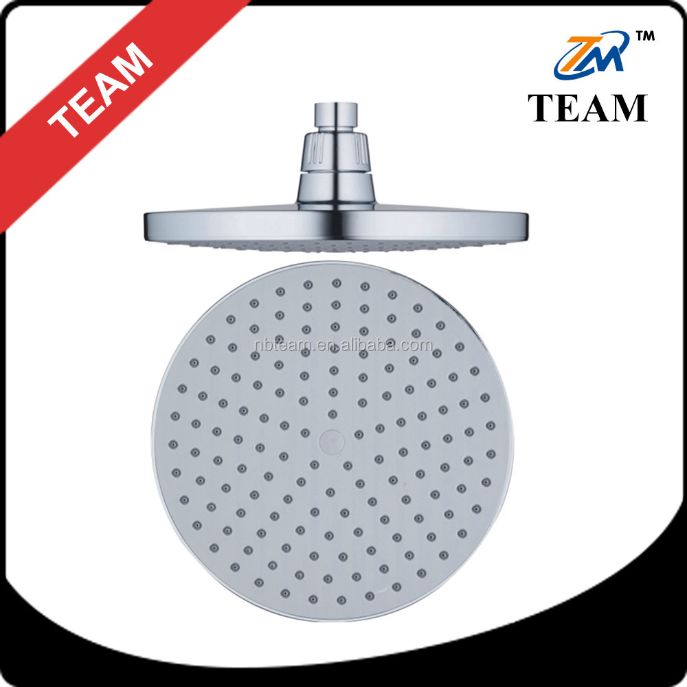 TM-3304 ABS plastic material bathroom shower accessories 8 inch cixi cheap eco spa shower head