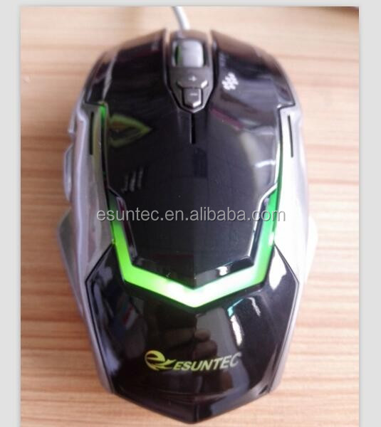 Hot selling new private design 7D Gaming optical Mouse, GM-039, Esuntec