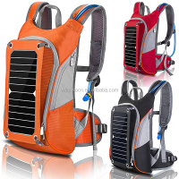 Wholesale custom made solar backpack 2016