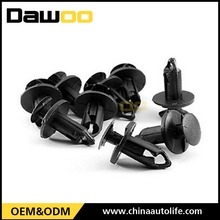 auto body parts 8mm hole size plastic fastener rivet clips for cars