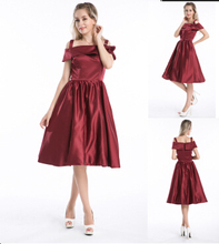 2015 New Vintage cotton full 1950s 60s classic Rockabilly Swing Party Evening red dress