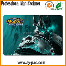 AY World of Warcraft Trading Card Fabric Play Mat Polyester Transfer Printing Rubber Card Game Play Mat/Trade Assurance Playmats
