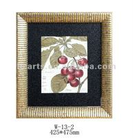 wooden picture frames to paint,Home decor bedroom wall hanging wood frame frame wholesale