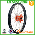 Forged aluminum motorcycle wheels for KTM 125 - 530CC