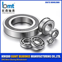 Attractive price 62212 Z3V3 chinese groove ball bearing / motor bearing with High RPM