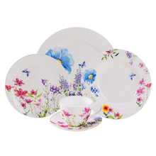 20pcs Dinner Set Ceramic Coupe Side/Dinner <strong>Plate</strong> With Cup and Saucer, Service for 4