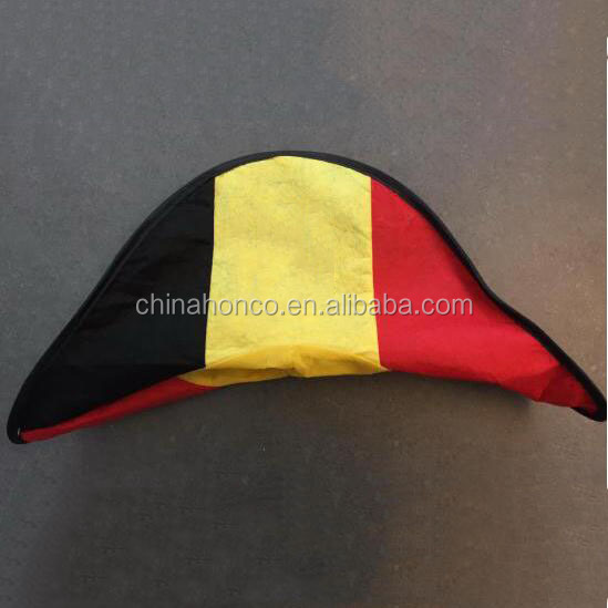WM 2018 belgium napoleon hat in belgian color