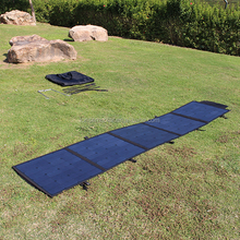 Wholesale Camping Motorhome Outdoor Solar Blanket 12V 18V Canvas Portable Folding Solar Panel 250W