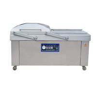 DZ-500/2SB Soya beans melt peanuts double chamber vacuum packing machine