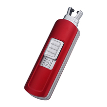 Newly mini Arc Lighters Rechargeable Usb Electronic Candle Lighter BBQ