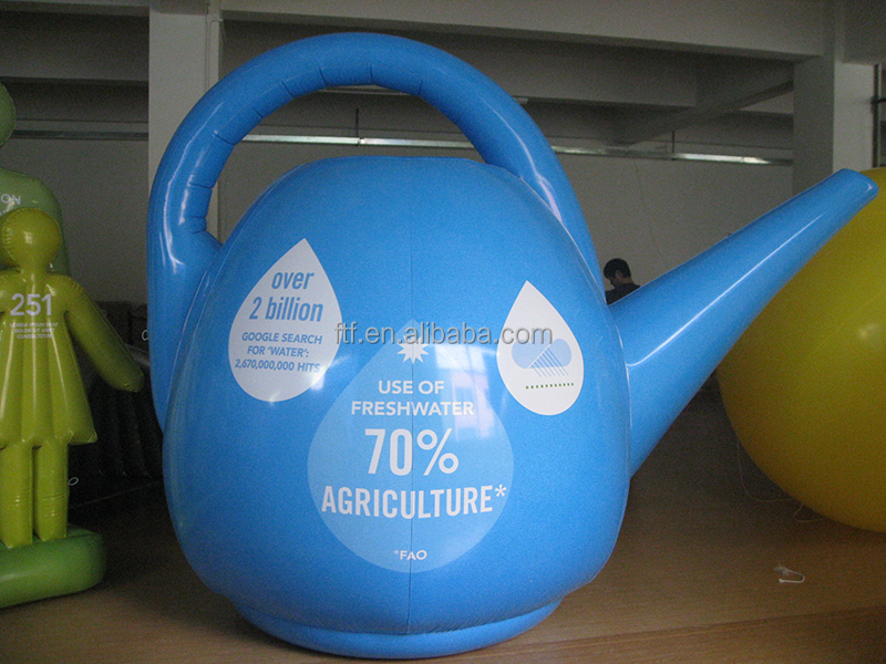inflatable teapot adverting , inflatable promotion