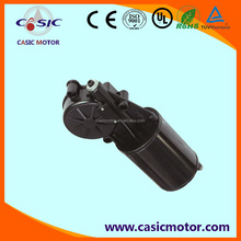 24VDC big torque worm gearbox motor for automatic door