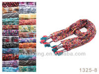 2013 European and American fashion scarves decorated with beads scarf