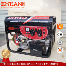 7kw with CE gasoline generator offer 2 years quality warranty