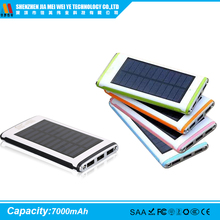 OUYI OY- 228 2016 China manufacturer sell USB custom power bank solar 8000Mah