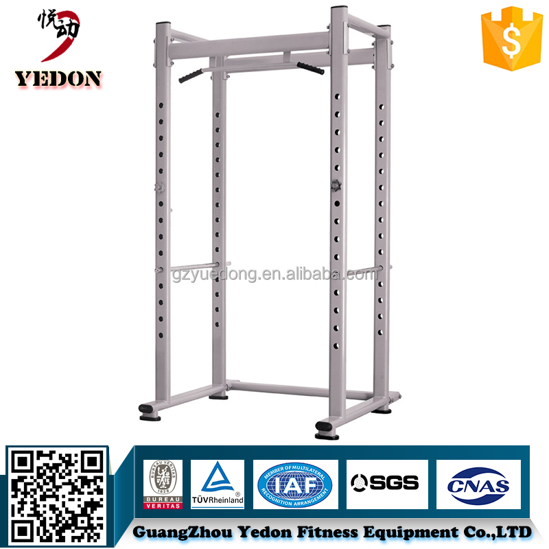 Home powertec power rack/ squat rack with pull up bar