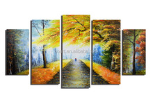 Modern Cheap Hot Sale Landscape Oil Painting on Canvas