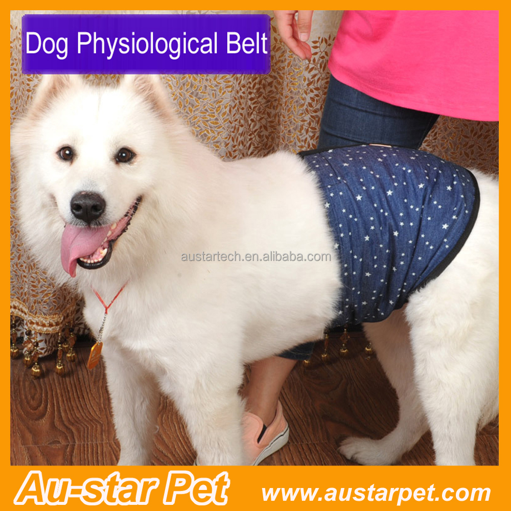 Large Male Pet Dog Puppy Season Reusable Sanitary Pants Dog Wrap Band Pet Breathable Nursing Hygiene Belly Band