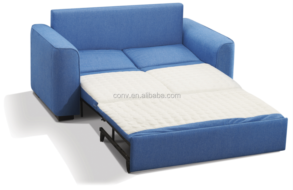 Corner European Design Cheap Sofa Bed With Blue Fabric