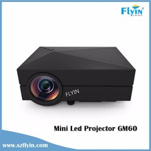 Pocket Home Theater USB Hdmi 80 Ansi Lumens full hd 3d led projector Lcd projecteurs