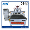 China suppier cnc router engraving machine work on foam, aluminum board, acrylic woodworking machinery