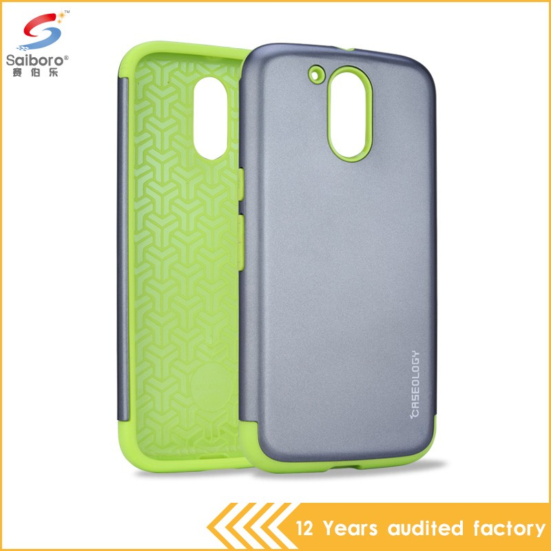 Popular item unique design tpu+pc bumper case for moto g
