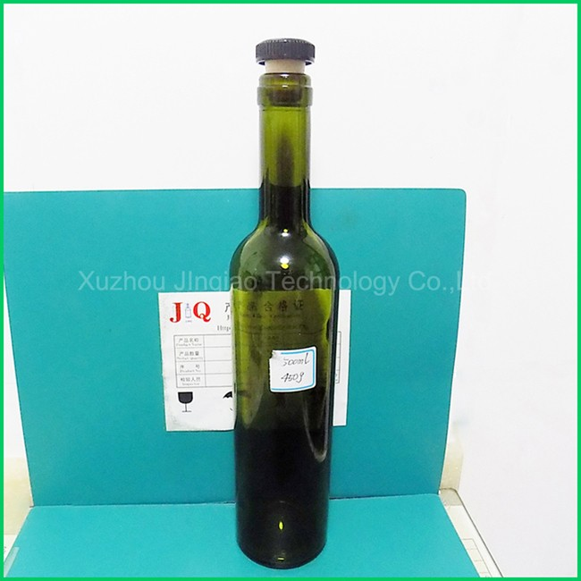 Xuzhou Jinqiao quality clear glass water bottle, SGS certified wine glass bottles wholesaler