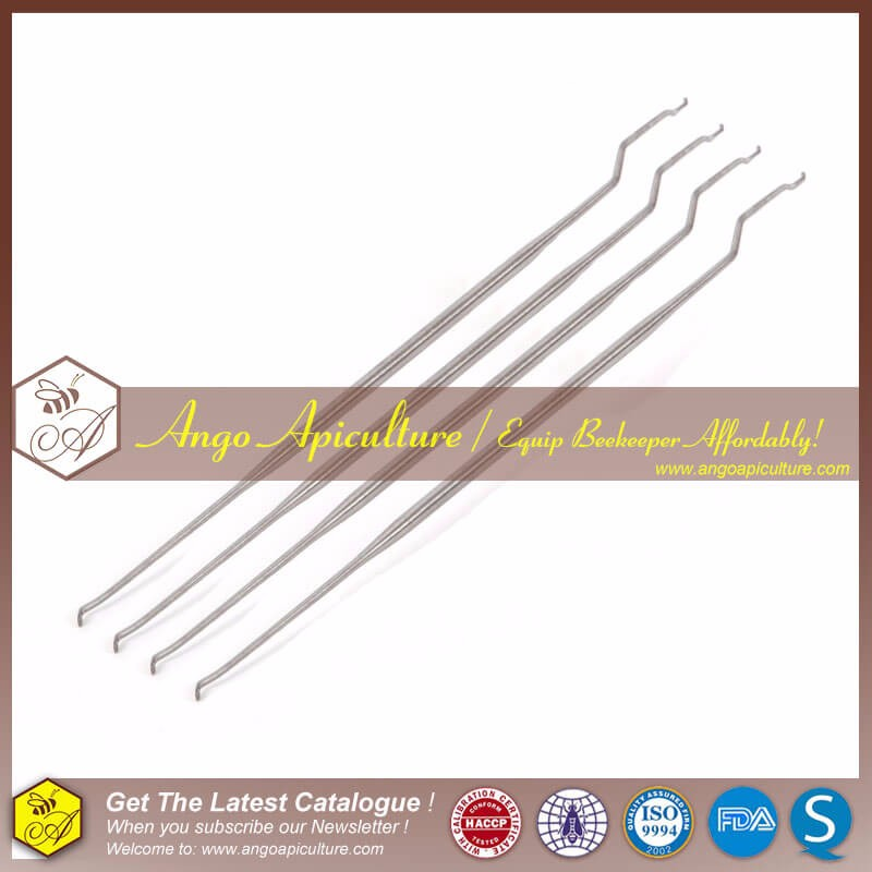 Long beekeeping stainless steel grafting tools needle tools for moving bee queen