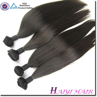 "Peruvian Virgin Straight 100% Human Hair Weft 3pcs/lot DHL Shipping 10""-28""Natural Color Quality Good Price"