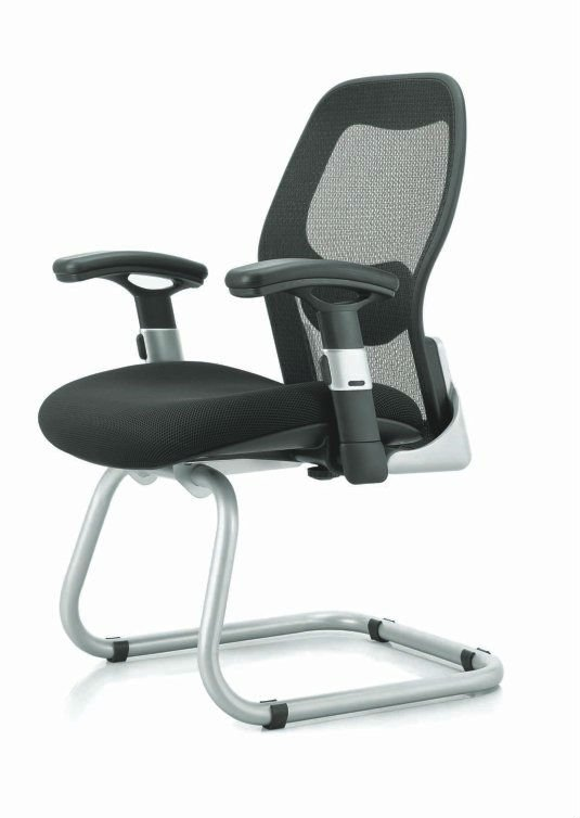 D16c Good Quality Mesh Office Visitor Chair With Memory Foam
