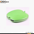 Porable power bank charger 6400mAh capacity for mobile phone