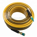 "High Flow Hybrid PU Air Hose 3/8""x50ft with coupler"