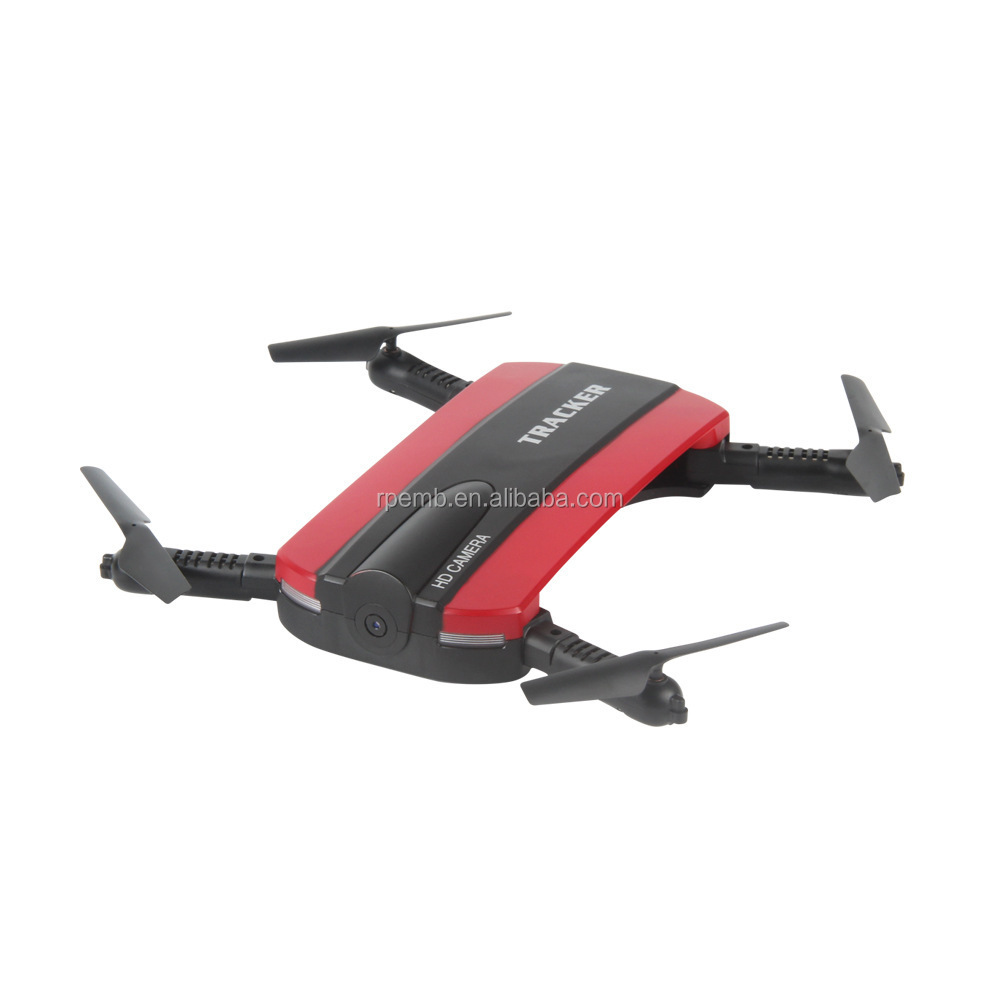 Tracker selfie drone Mini folding craft WiFi camera single aircraft