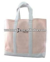 2013New Popular canvas shopping bag