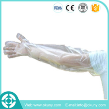 Shoulder length long veterinary hand gloves manufacturer in China