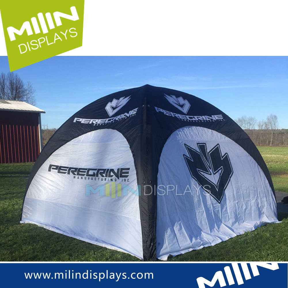 Custom large wedding airtight inflatable shade tents for sale
