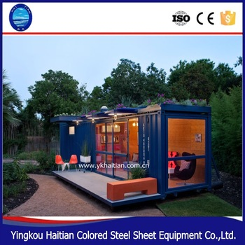 2016 pop hot sale Full Finished Container House 20 Feet prefabricated house,prebuilt container home