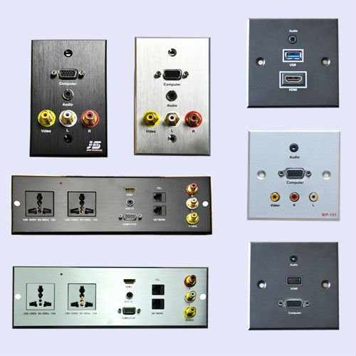 Multimedia Hdmi Vga Wall Usb Socket For Hotel Room Buy