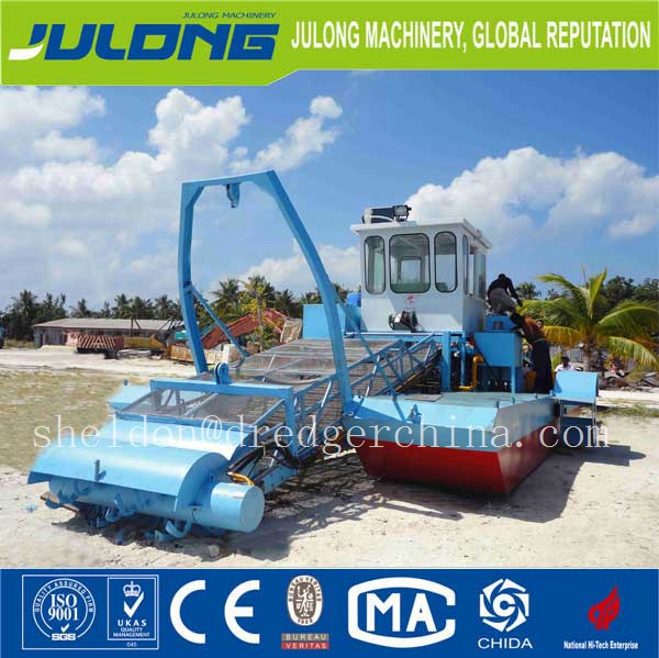 Customerized aquatic weed harvesting machine