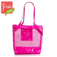 Fashion Latest Ladies Beach Bag Mesh Bag