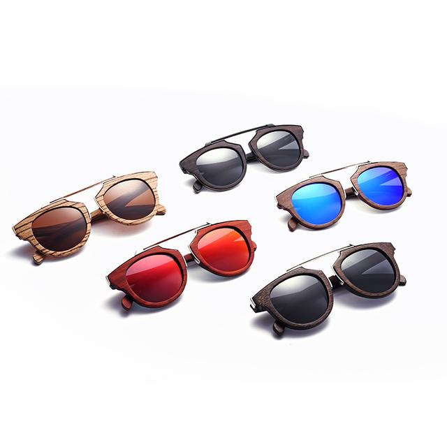 89767f3694 2017 Latest Retro Vintage Cat Eye Bamboo Sunglasses Women Men Driving  Eyewear Brand.