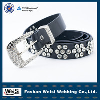 factory customized fashionable women beaded belt patterns