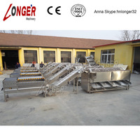 Stainless Steel Automatic potato washer and grader plant