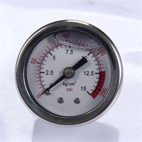 New Design Durable Light Weight Easy To Read Clear caterpillar oil pressure gauge