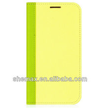 Lemon Green for Galaxy S4 SIV i9500 With Hard Case - Assorted Colors
