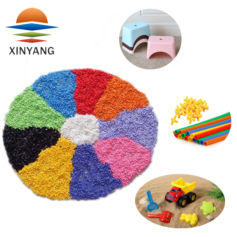 PP resin color stability pla plastic pellets masterbatch for shopping market bags
