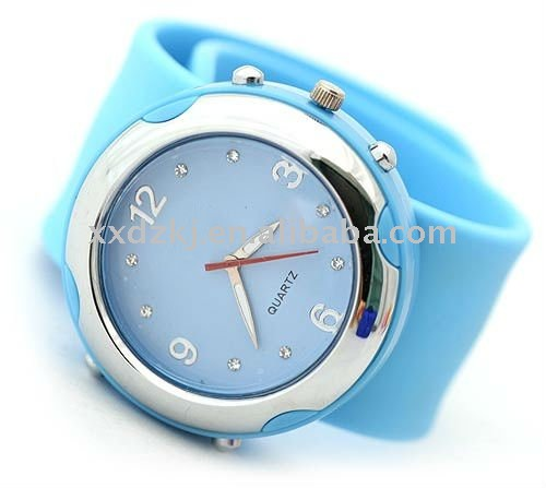Popular beauty ladies sweet silicone quartz wrist watches