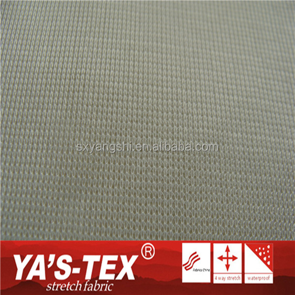 2016 Shao Xing Waterproof Breathable TPU Membrane Fabric ,4 Way Stretch Polyester Solid Color Fabrics