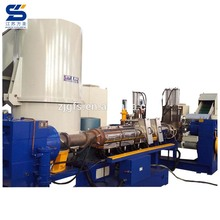 High quality PP PE agricultural film recycling pelletizing line/plastic granules making machine