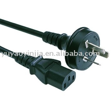 Australia 3 pin plug to IEC320 C13 connector / Australia power cords